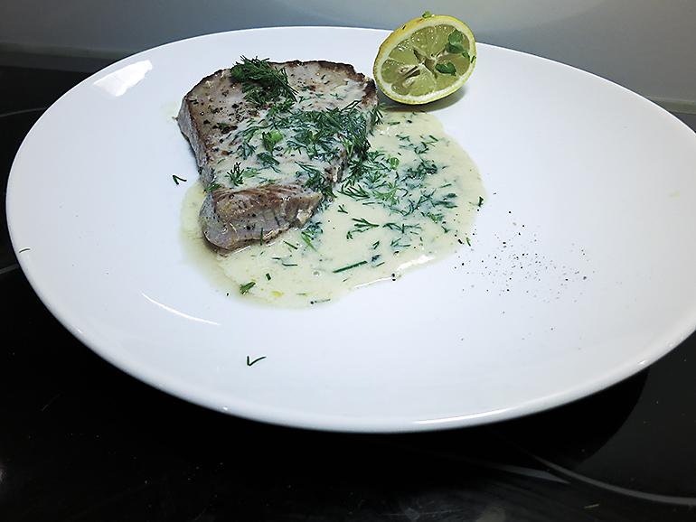 sås till tonfisk