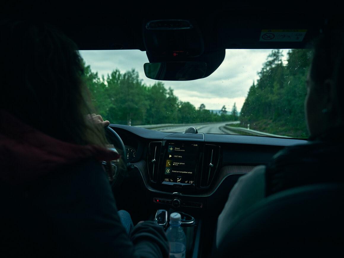 Inside Volvo XC60 - Åre Gravel